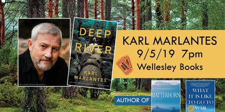 "Karl Marlantes presents ""Deep River"" tickets"