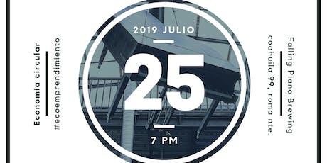 Blue Drinks CDMX julio: Economía circular y #ecoem boletos
