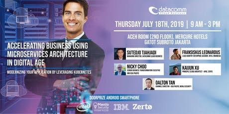 Accelerating Business Using Microservices Architecture In Digital Age tickets