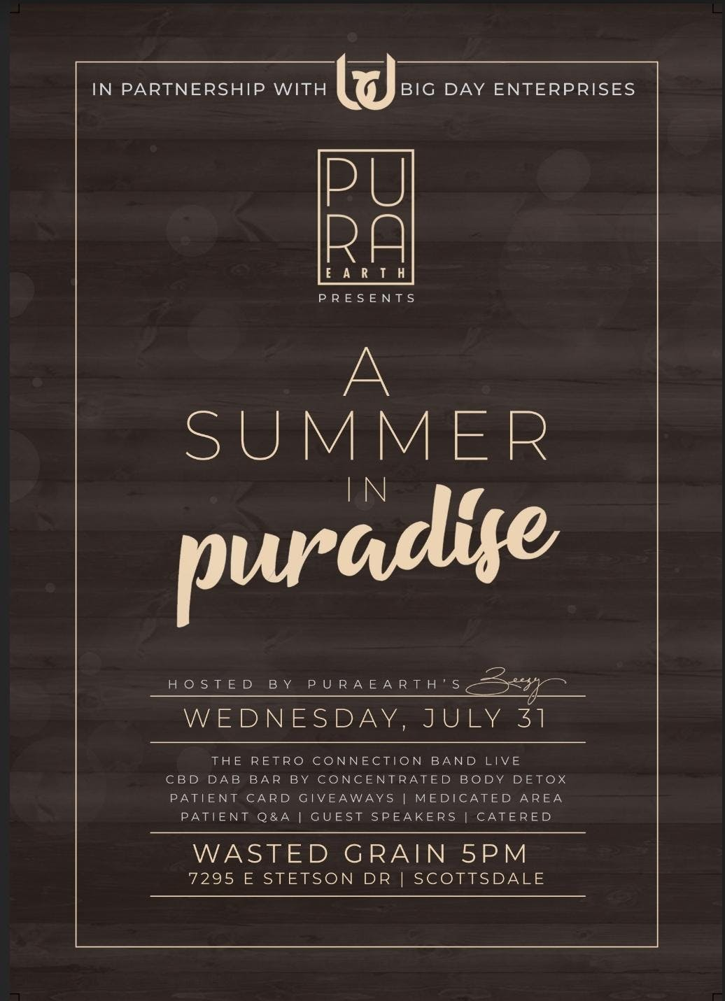 A Summer in Puradise