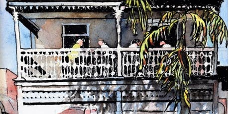2 Day Painting Buildings in Watercolour & Ink Workshop with Ann Clarke tickets