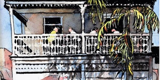 2 Day Painting Buildings in Watercolour & Ink Workshop with Ann Clarke