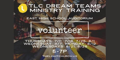 THE LIGHT CHURCH - DREAM TEAM MINISTRY TRAINING (The Light Way 101 & 102) tickets