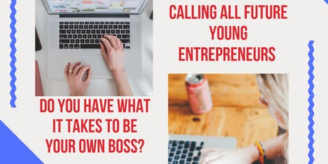 Be Your Own Boss. Be a Young E-commerce Entrepreneur. tickets