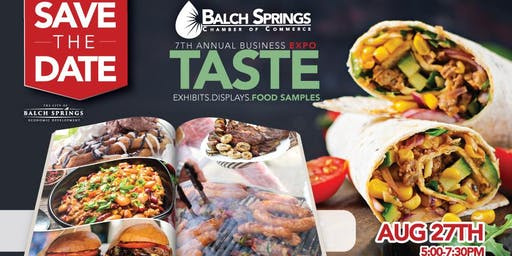 Balch Springs Chamber Expo and Taste Event