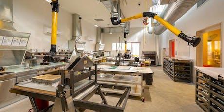 Tour the VCA Print Workshop tickets
