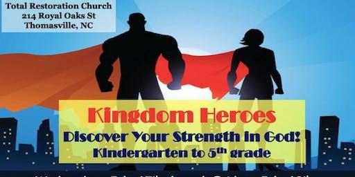 TRC 2019 Vacation Bible School (K-5)