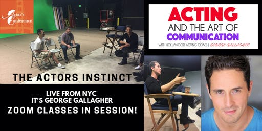 The Actor's Instinct New Zoom Webinar
