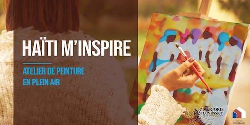 Atelier de peinture: HAÏTI M'INSPIRE [En plein air]