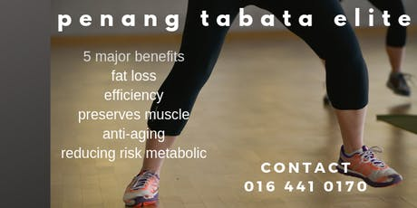 PENANG TABATA ELITE tickets