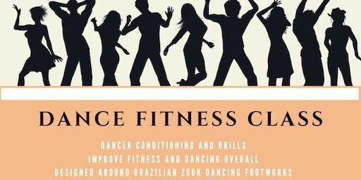 Dance workout group class