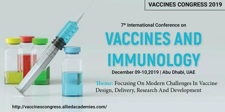 7th International Conference on Vaccines and Immunology tickets