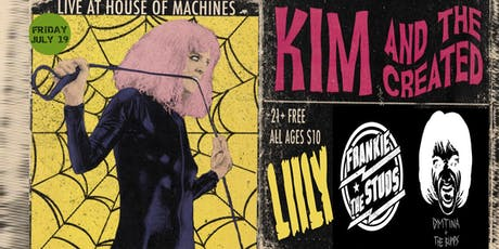 Kim and The Created with Liily tickets