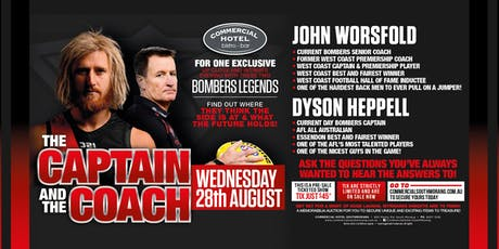 The Coach & The Captain Worsfold & Heppell LIVE at The Commercial Hotel! tickets