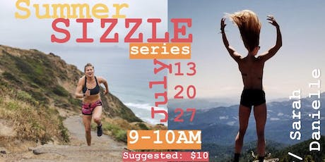 SUMMER SIZZLE Workouts in the Park tickets