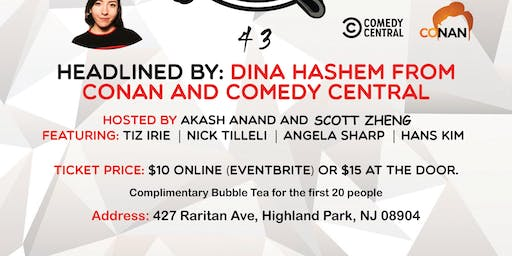 Comedy Show with Free Bubble Tea!!