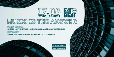 Eat The Beat : Music is the answer tickets