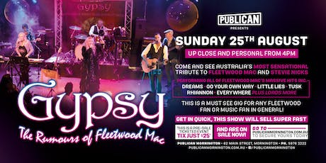 Gypsy - The Rumours of Fleetwood Mac LIVE at Publican! tickets