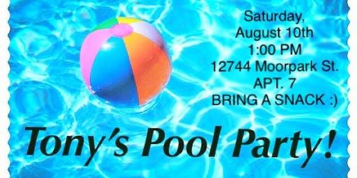 Tony's Pool Party!
