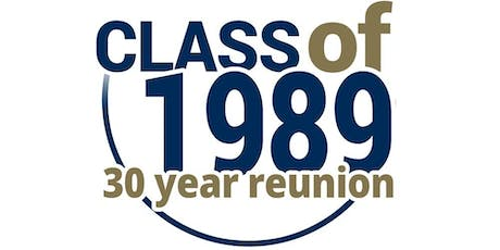 The Gap High  class of 1989 30 year reunion tickets