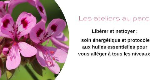 Libérer et nettoyer : huiles essentielles et soin énergétique