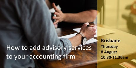 How Your Accounting Firm can Easily add Advisory Services (at no cost) tickets