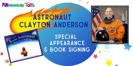 Astronaut Clayton Anderson Appearance & Book Signing tickets