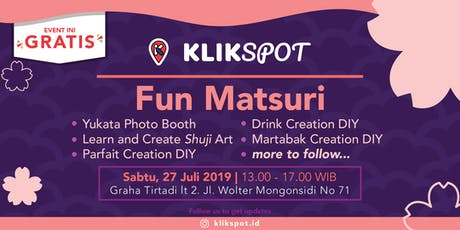 Klikspot: Fun Matsuri tickets