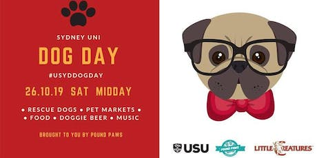 Sydney Uni Dog Day - Pound Paws tickets