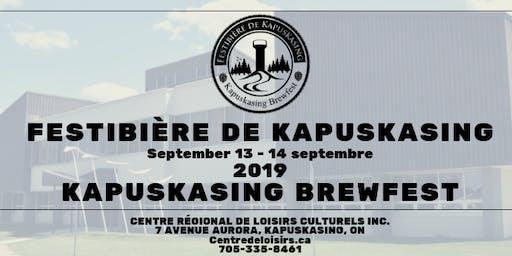 Festibiere de Kapuskasing Brewfest