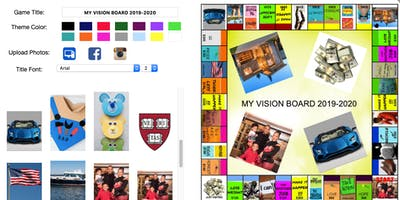 VISION BOARD GAME