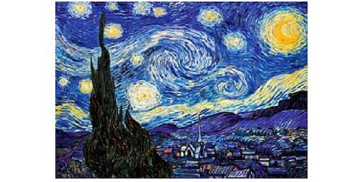 Van Gogh Starry Night - Brisbane