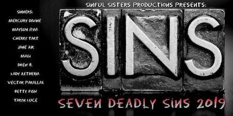 Seven Deadly Sins 2019 tickets