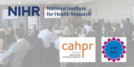 London AHPs in research – making it happen in practice tickets