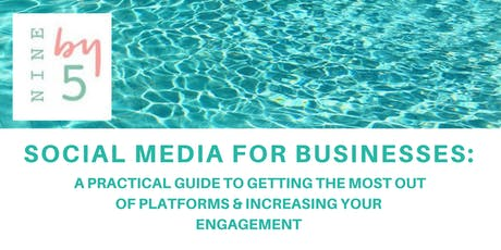 SOCIAL MEDIA FOR BUSINESSES tickets