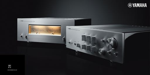 Launch of the new Yamaha 5000 Series of Hi-Fi Amplifiers and Speakers!