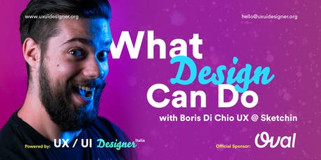 Le sfide del What Design Can Do biglietti