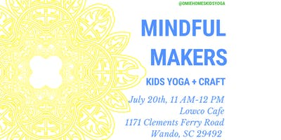 Kids Yoga + Craft (Mindful Makers)