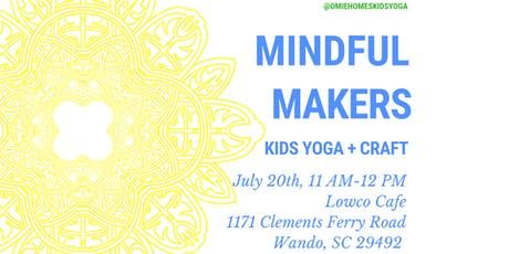 Kids Yoga + Craft (Mindful Makers) tickets