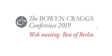Web meeting: Best of Berlin 2019 tickets