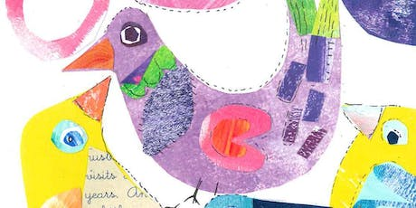 Children's Under 14's Mixed-Media Collage with Artist Sue Edwards tickets