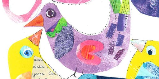 Children's Under 14's Mixed-Media Collage with Artist Sue Edwards