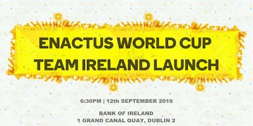 Enactus World Cup 2019: Team Ireland Launch