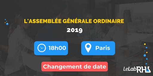 Assemblée Générale Ordinaire du Lab RH ! 2019