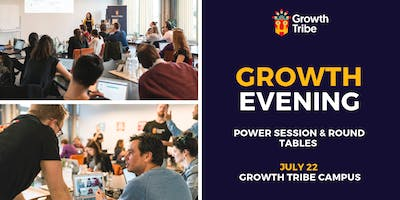 Growth Evening - Power Session & Round Tables (22n