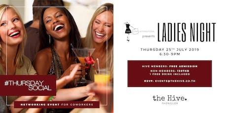 Thursday Socials x Girl Gone International: Ladies Night tickets