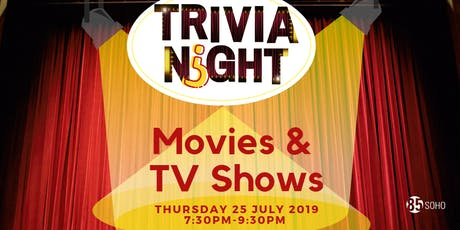 Trivia Night: Movies & TV Shows tickets