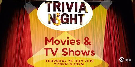 Trivia Night: Movies & TV Shows