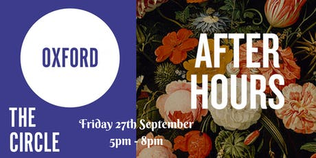 The Oxford Circle x After Hours at The Ashmolean tickets