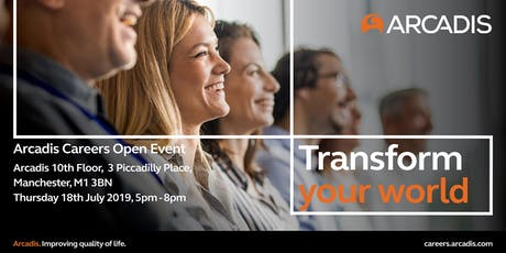 Arcadis Careers Open Event Manchester tickets